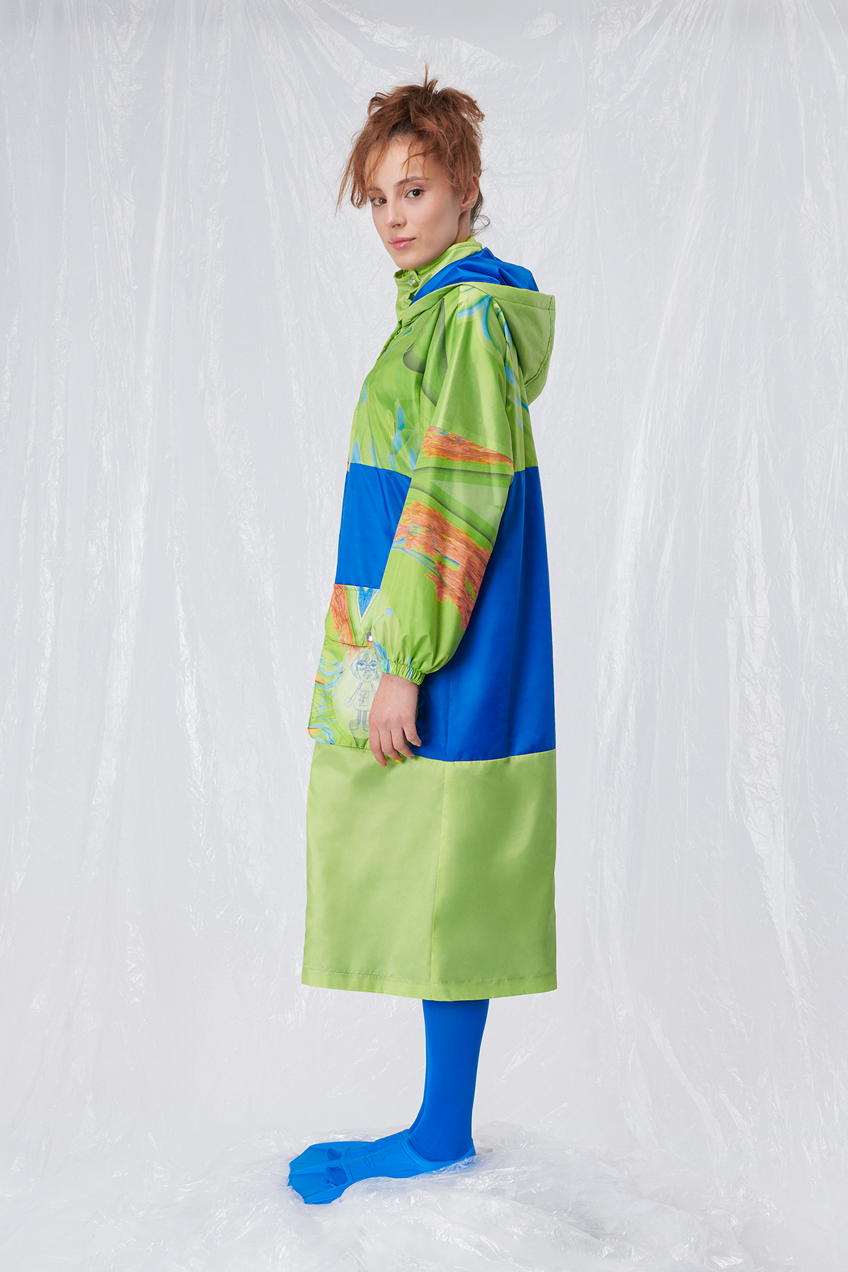 RAINBOW RAINCOAT LOOK O1