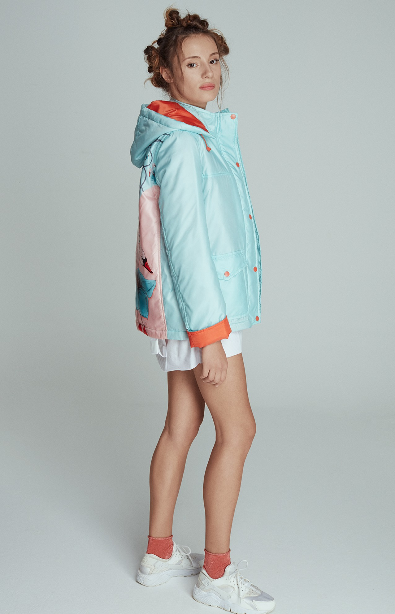 UTOPIA HOODED COAT LOOK 5